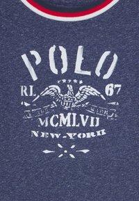Polo Ralph Lauren - Triko spotiskem - observer blue heather - 2
