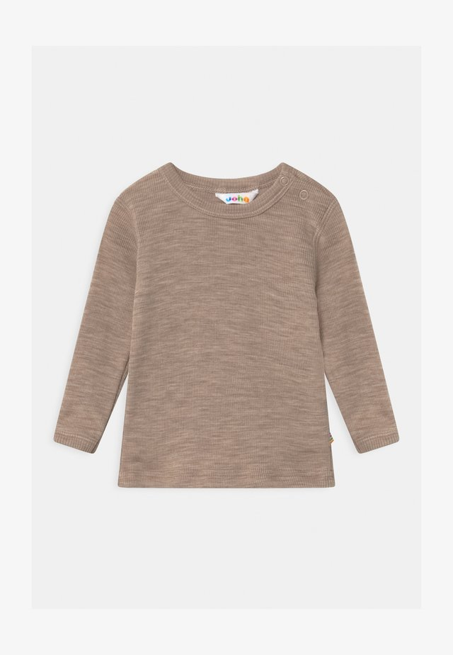 LONG SLEEVES UNISEX - Longsleeve - beige
