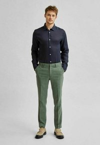 Selected Homme - Formal shirt - navy blazer - 1