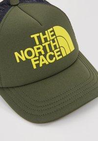 The North Face - LOGO TRUCKER - Kšiltovka - thyme/lemon - 2