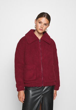 ONLEMMA JACKET - Winter jacket - pomegranate