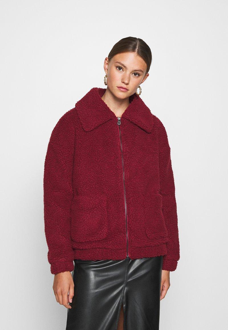 ONLY - ONLEMMA JACKET - Winter jacket - pomegranate