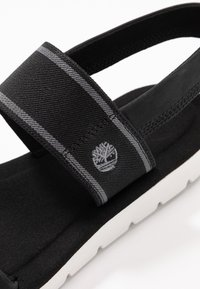 Timberland - LOTTIE LOU 2 BAND - Sandals - black - 5
