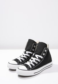 Converse - CHUCK TAYLOR ALL STAR HI - Sneakers high - black - 3
