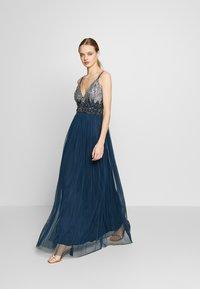 Lace & Beads - CELIA MAXI - Suknia balowa - navy - 1