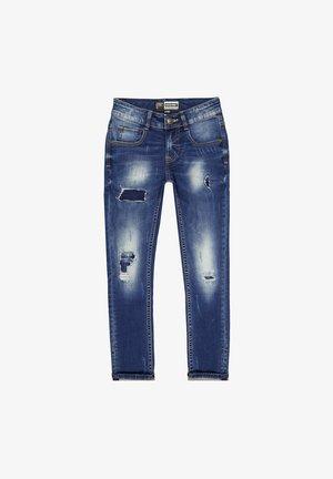 TOKYO CRAFTED - Slim fit jeans - dark blue stone