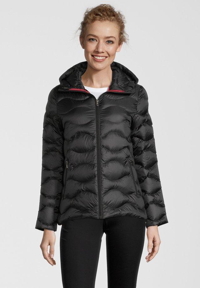 CORY - Gewatteerde jas - black