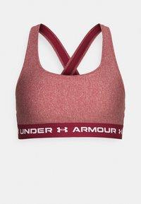 CROSSBACK MID - Medium support sports bra - red