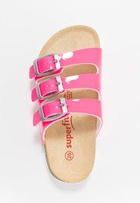Superfit - FUSSBETTPANTOFFEL - Pantuflas - pink - 1