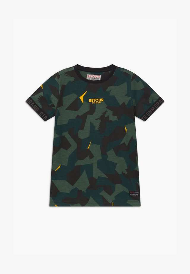 SEF - T-Shirt print - dark green