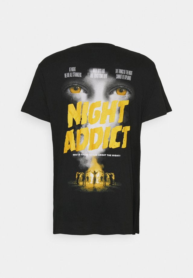 NASTRANGERS - T-shirts print - black