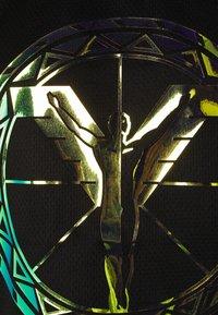 Carlo Colucci - TANK MIT IRISIERENDEM PRINT UNISEX - Top - black reflective - 2