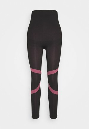 MLFREYA ACTIVE TIGHTS - Leggings - Trousers - black/pink lemonade