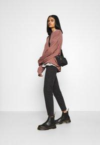 Weekday - HUGE CROPPED - Sweatshirt - brown/purple - 1
