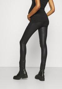 LOVE2WAIT - SIDEPOCKETS - Trousers - black - 2