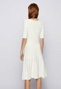 BOSS - Jumper dress - natural - 2
