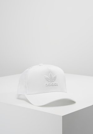 TRUCKER - Gorra - white