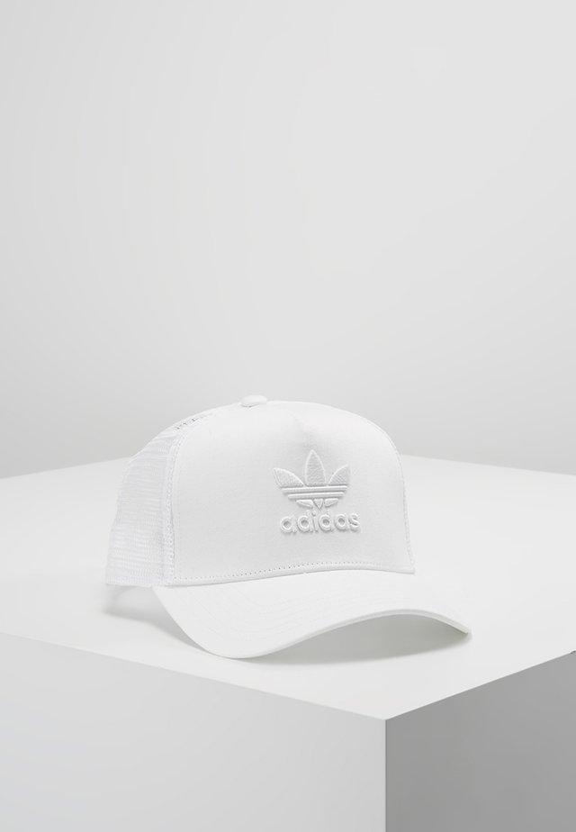 TRUCKER - Cap - white