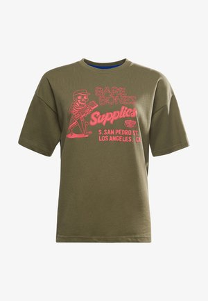WORKWEAR GRAPHIC - T-shirt imprimé - seaweed