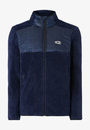 BAFFLE  - Fleece jacket - ink blue