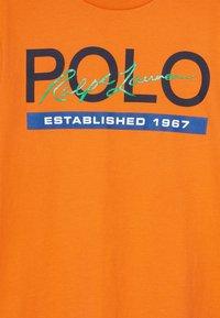Polo Ralph Lauren - T-Shirt print - bright signal orange - 3