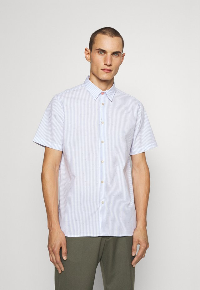CASUAL FIT - Shirt - light blue/white