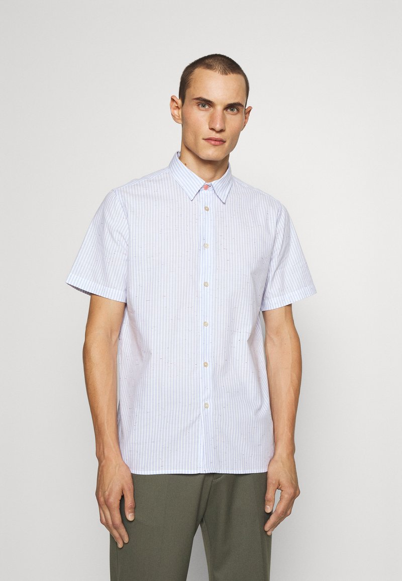 PS Paul Smith - CASUAL FIT - Shirt - light blue/white