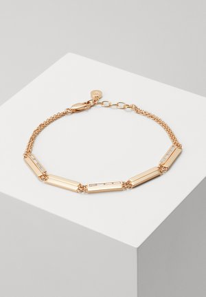 BAGUETTES - Pulsera - rose gold-coloured