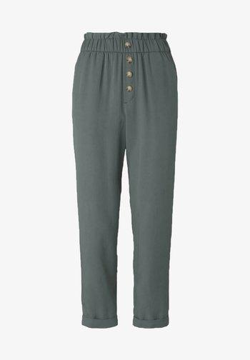 Trousers - dusty pine green