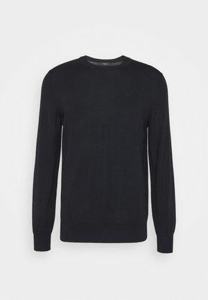 CREW NECK - Stickad tröja - navy