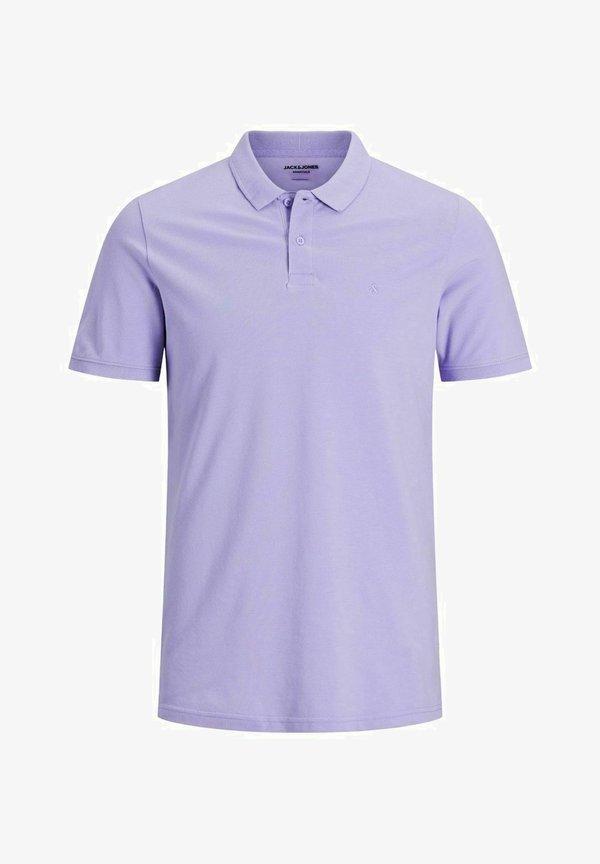 Jack & Jones Koszulka polo - lavender/fioletowy Odzież Męska YMXG