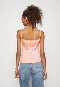 Tommy Jeans - SUMMER TIE DYE TANK - Top - sweet peac/multi - 2