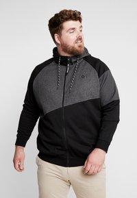Jack & Jones - JCOTAKE  - Zip-up hoodie - black - 0