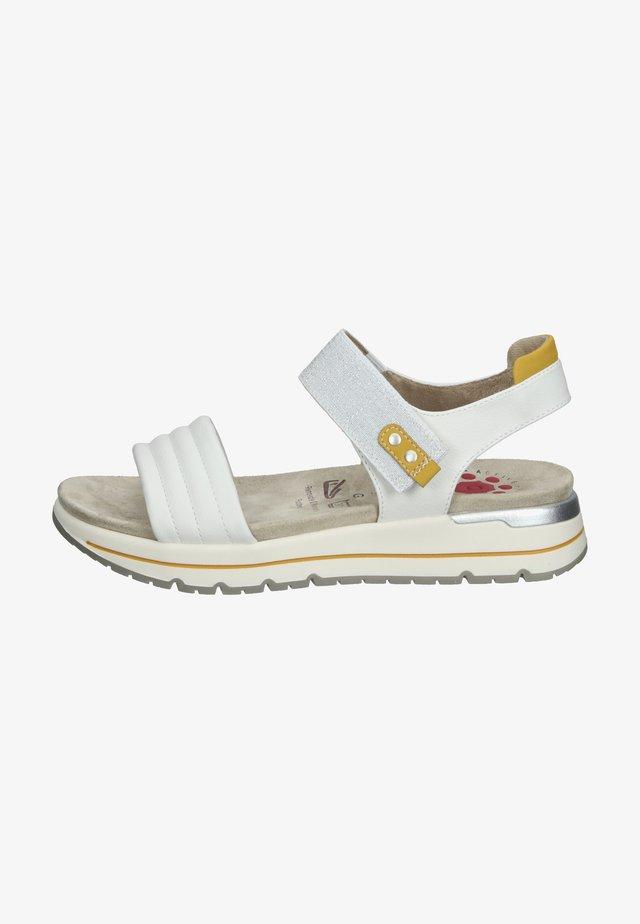 Sandales à plateforme - blanc casse