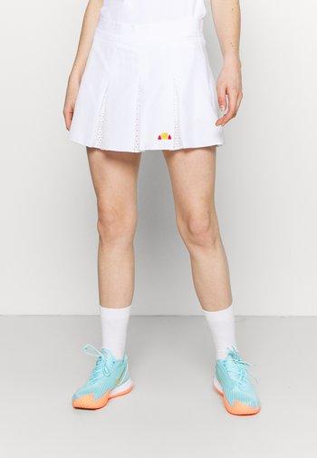 CALETTA SKORT - Sports skirt - white