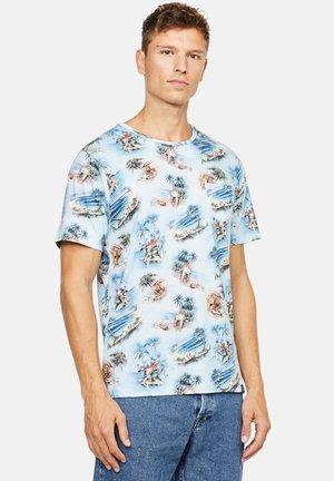 ETHAN - T-shirt print - blau