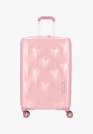 EDGE CARVE  - Wheeled suitcase - blush