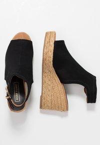 River Island - Højhælede sandaletter / Højhælede sandaler - black - 3