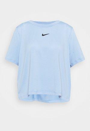 T-shirts basic - aluminum/black