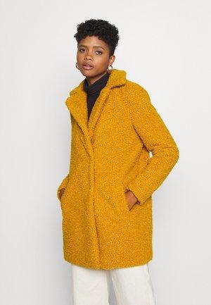 NMGABI - Zimní kabát - inca gold/lining black