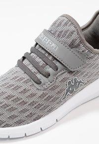 Kappa - GIZEH - Sportovní boty - grey/light grey - 2