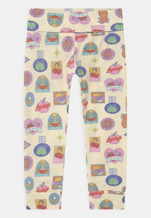 BABY FRUIT STICKER UNISEX - Legging - multi-coloured