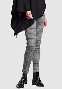 Alba Moda - Leggings - Trousers - grey - 0