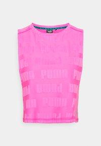 Puma - TRAIN FIRST MILE XTREME TANK - Sports shirt - luminous pink - 5