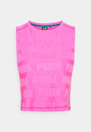 TRAIN FIRST MILE XTREME TANK - Sports shirt - luminous pink