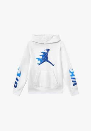 JUMPMAN FIRE  - Bluza z kapturem - white