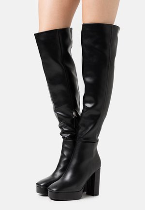 CAROLINA - High heeled boots - black