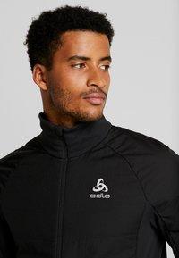 ODLO - JACKET MILLENNIUM THERMIC ELEMENT - Outdoor jacket - black - 4