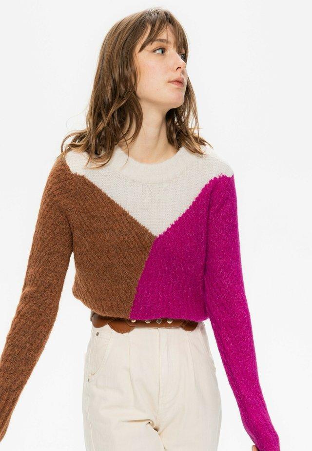 Pullover - imprimé multicolore