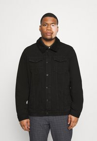 Jack´s Sportswear - JACKET - Denim jacket - keep black - 0